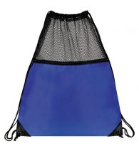 Mesh Drawstring Backpacks: EDS1221RB