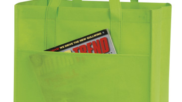 Non Woven Shopping Bags with Large Front Pocket: EST106LG