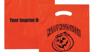 Halloween Bags Fold Over Die Cut Handle Bags #EP13H12