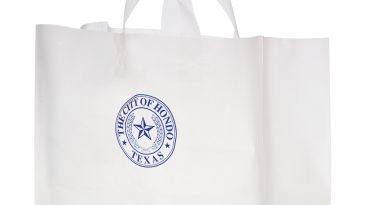 Frosted Shopping Bags #EP19FSC16612