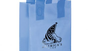 Frosted Colored Shopping Bags #EP19FSL8411