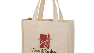 14 Oz Cotton Canvas 2 Sewn-in Bottle Holders #EPCH13513
