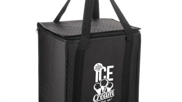 Non Woven Insulated Grocery/Lunch Bag w/ 1 Color Imprint #EPY2KC1213 (12″x8″x13″)