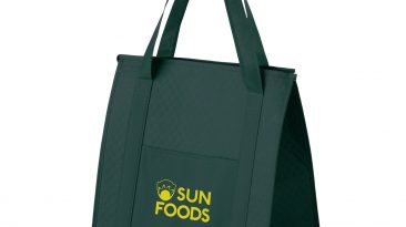 Non Woven Insulated Grocery/Lunch Bag w/ 1 Color Imprint #EPY2KC1315 (13″x10″x15″)