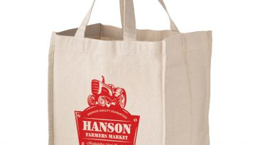 Cotton Canvas 4 Sewn In Fold Away Bottle Holders #EPCH131015