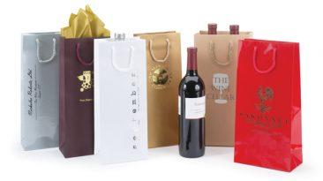 European Wine Bottle Bags