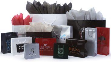 Gloss Laminated European Shopping Bags
