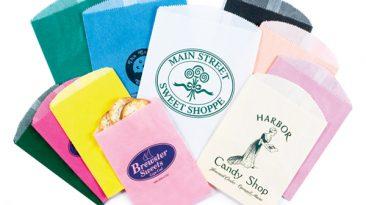Gourmet Glassine Merchandise Bags
