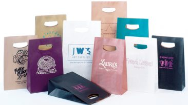 Handle Lock Style Paper Bags