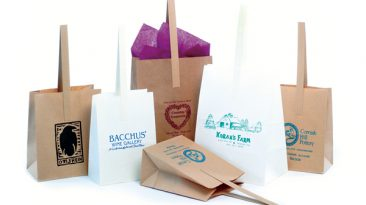 Handle Tote Shopping Bags