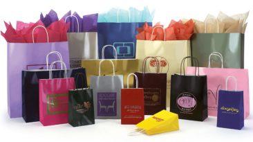 High Gloss Shopping Paper Bags