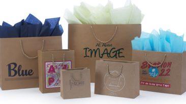 Kraft European Shopping Bags