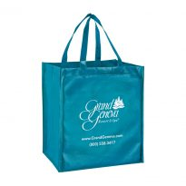 Non Woven Solid Smooth Finish Metallic Designer Tote Bag #EPLM131015 (13″x10″x15″)
