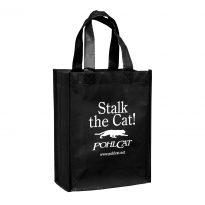 Non Woven Gloss Designer Tote/Grocery Bag (8″x4″x10″)