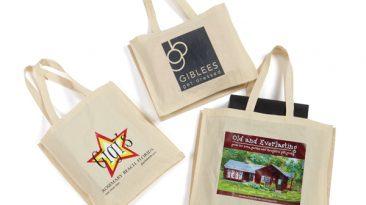 Light Weight Canvas Shopping Bags