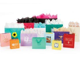 Matte Laminated European Shopping Bags