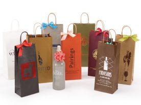 Paper Wine Bottle Bags