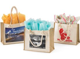 Resort Canvas/Jute Bags