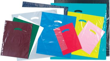 Super Gloss Lo-Density Die Cut Plastic Bags