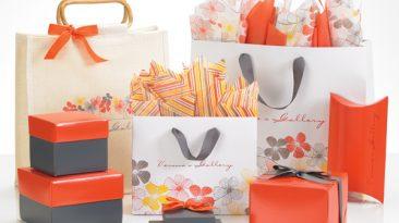 Tuscan Blossoms Matte Laminated Euro Shopping Bags