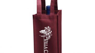 1 Bottle Non Woven Wine Collection Bag w/ 1 Color Imprint #EPVINE1