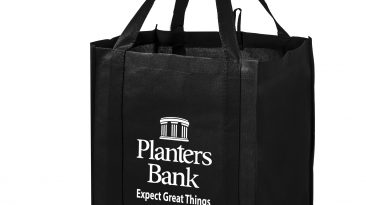 Wine Grocery Combo Bag w/ 4 Interior Bottle Holders,2 Interior Pockets #EPWG131015