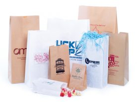 Recycled Natural Kraft S.O.S. Bags