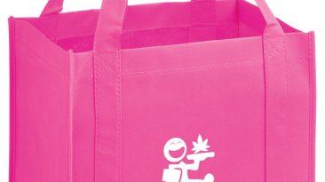 Heavy Duty Grocery Bag w/ Poly Board Insert & 1 Color Imprint #EPY2KG131015