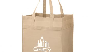 Heavy Duty Grocery Bag w/ Poly Board Insert & 1 Color Imprint #EPY2KH131015