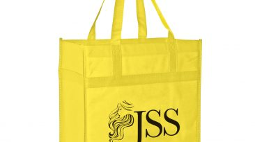 Heavy Duty Grocery Bag w/ Poly Board Insert & 1 Color Imprint #EPY2KL13714