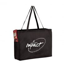 Non Woven Tote Bag 16x6x12 With Side Pockets #EPY2KP16612