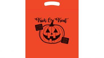 Halloween Bags Fold Over Die Cut Handle Bags #EP13TOT12153