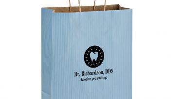 Paper Shopping Bag 10x5x13 Printed #EP4M10513